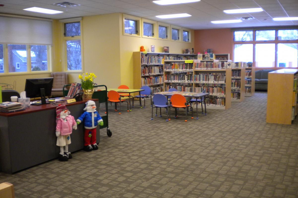 Children's area updated