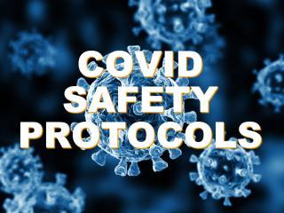 COVID Safety Protocols graphic