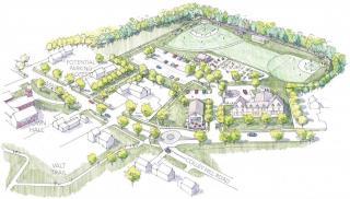 Gray Village Gateway Conceptual Drawing